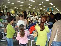 Movimento nas lojas