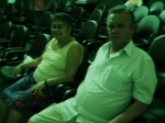 O casal Geraldo e Maria Lúcia no João Carriço