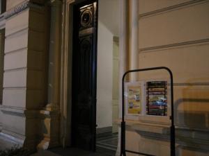 A programação do João Carriço fica na porta do anfiteatro