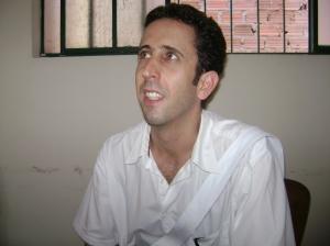 Tarcisio Pinto, coordenador das oficinas do festival