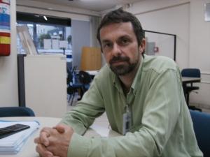 O técnico Eduardo Dilli do Sebrae - JF
