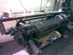 Máquina mecânica, como usada na industria de Poliani