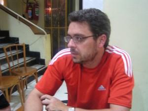 Nilson Alvarenga, um dos organizadores do Primeiro Plano