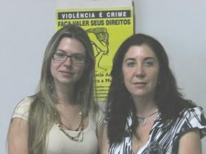 As delegadas Isabella e Sônia