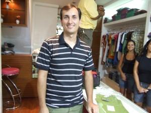 Bruno César de Nazareth Ciribelli, professor da Língua Portuguêsa de Colégio Meta