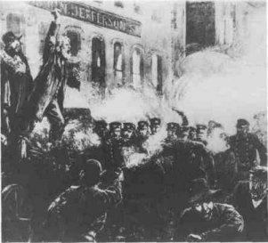 Manifestações e conflitos em Chicago, em 1886