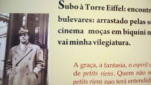 Trechos de poemas de Murilo Mendes fazem referência à cultura francesa