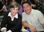 Érica Salazar e Bruno Sakaue encerram o primeiro dia do evento