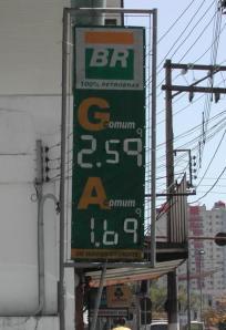 Alta no preço do açúcar também reflete no preço do álcool