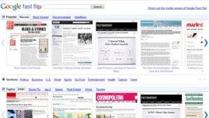 Fast Flip exibe diferentes páginas de notícias as mesmo tempo