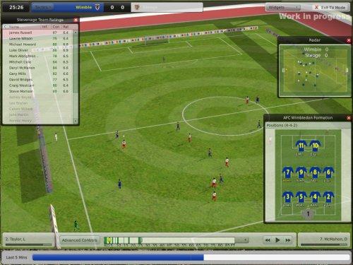 Footbal Manager: opções minuciosas e jogadores em 3d