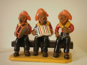 Escultura de cerâmica do alto do Moura