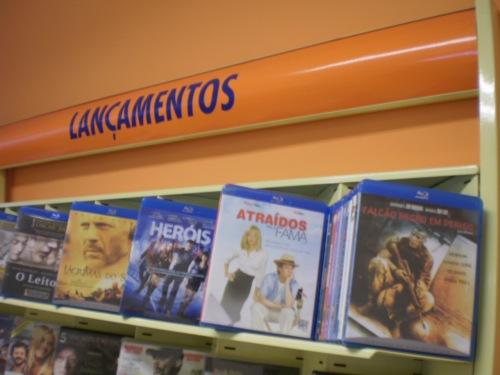 Filmes em Blu-Ray ainda chegam com um mês de atraso