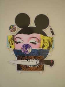Rico Lins - Máscara pop, 1992   Técnica Mista - BRASIL