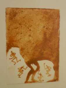 Antony Gormley - Continente, 1992   Terra sobre papel - INGLATERRA