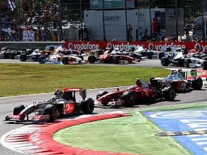 Com boa estratégia Brawn consegui uma dobradinha no pódio do GP de Monza, na Itália.