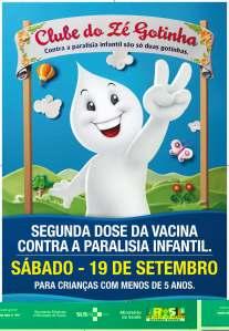 """Com slogan """"Não dá pra vacilar, tem que vacinar"""",  campanha prevê imunização de 14,7 molhões de crianças"""