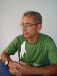 Welson é coordenador do pré-vestibular Apogeu
