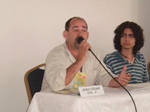 João César evidenciou a necessidade da presença das causas sindicais na mídia