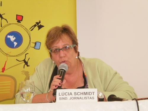 Lúcia Schimidt questionou o salário do profissional de comunicação em Juiz de Fora